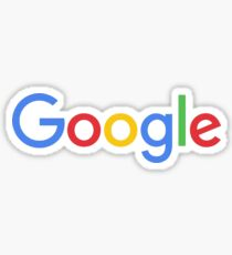 Neues Google Logo Sticker