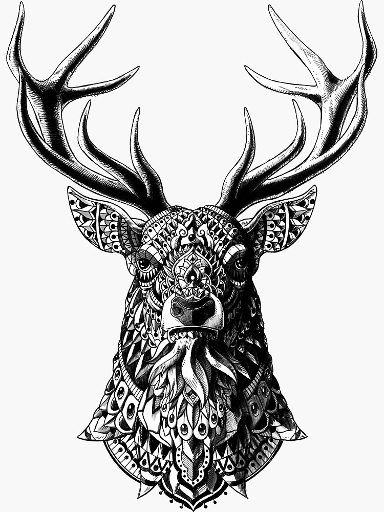 Ornate Buck by BioWorkZ