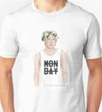 Nialler Floral crown Unisex T-Shirt