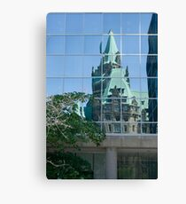 Distorted Government - Interpret as you wish Canvas Print