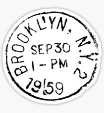 Pegatina Brooklyn!