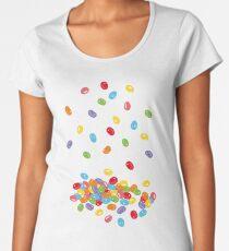 Ostern Jelly Beans Bonbons Süßigkeiten Osterfest Frauen Premium T-Shirts