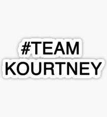 Pegatina #Team Kourtney