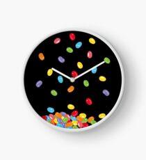 Ostern Jelly Beans Bonbons Süßigkeiten Osterfest Uhr