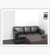 Casting Couch Sticker