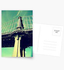 Manhattan Bridge Postcards