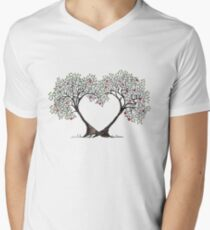 love trees Men's V-Neck T-Shirt