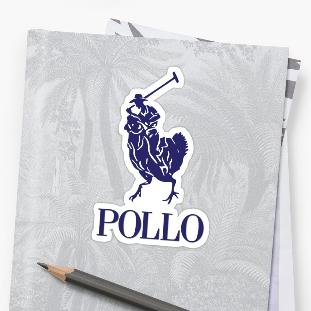 Pollo Stickers