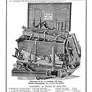 C. E. Jennings No. 19 Tool Chest With Tools 1901 by toolemera