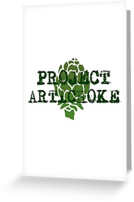 'Project Artichoke' Greeting Card by shanghaijinks