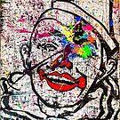 Sledgehammer Face Clown  by Chris Crewe
