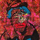 Sledgehammer Face Clown #15 by Chris Crewe