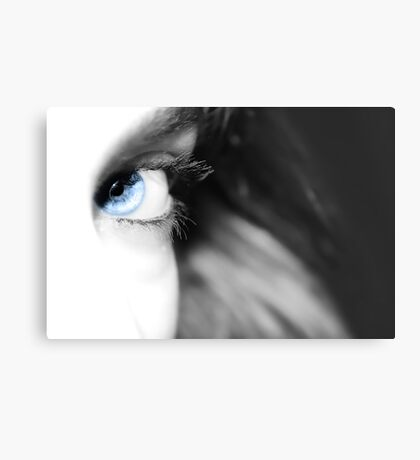 i see blue Canvas Print