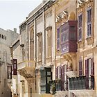 Malta: Balconies in Mdina by Kasia-D