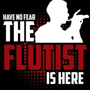 Flute flute player by GeschenkIdee