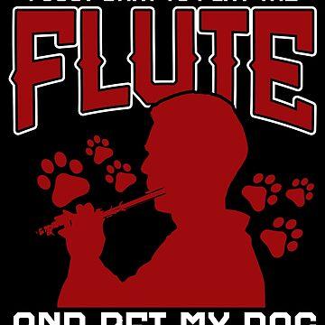 Dog flute by GeschenkIdee