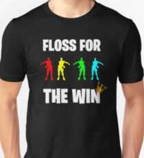 Floss For The Win Videogame Gift Unisex T-Shirt