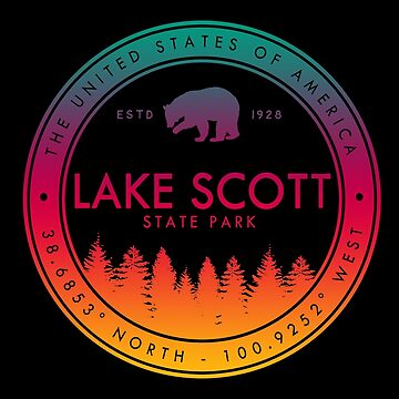 Lake Scott State Park Kansas Souvenirs KS by fuller-factory
