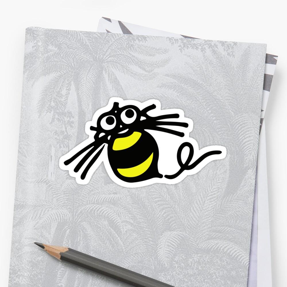 Hudson Soft Retro Game Bee Logo Sticker