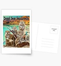 Dead Sea Squirrels Postcards
