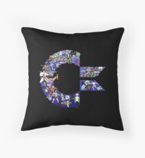 C64 Characters Throw Pillow
