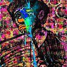 Sledgehammer Face Clown #21 by Chris Crewe