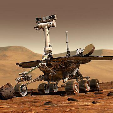 NASA Mars Rover by historicalstuff