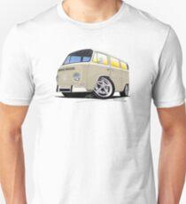 VW Bay Window Camper Van B Cream T-Shirt