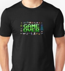 Game over, 80s style. T-Shirt