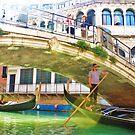 men on the gondolas by xxnatbxx
