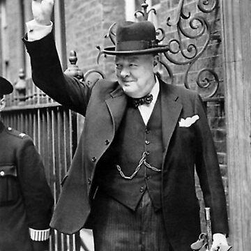 Winston Churchill V For Victory by historicalstuff
