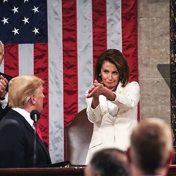 Nancy Pelosi Clapping Donald Trump State Of The Union by historicalstuff