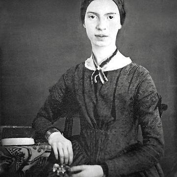 Emily Dickinson Portrait by historicalstuff