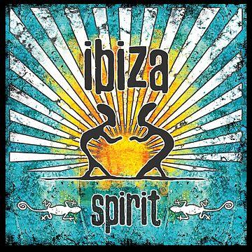 Ibiza Sonne style spirit von Periartwork