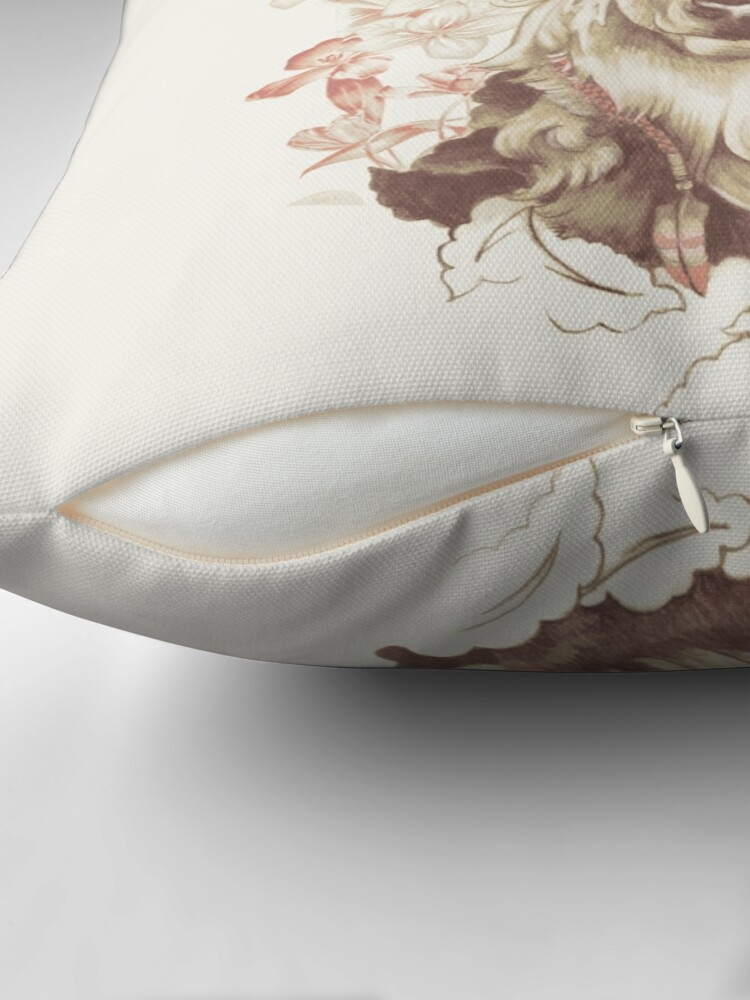 Alternate view of Stag of my Dreams Throw Pillow