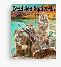 Dead Sea Squirrels Canvas Print