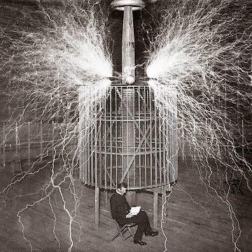 Nikola Tesla by historicalstuff