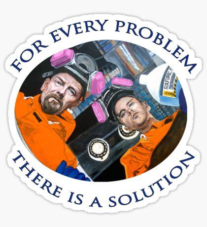For Every Problem Sticker