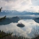 lake bled, Slovenia by Ty Cooper
