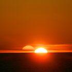 Doppelter Sonnenuntergang von ctheworld