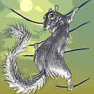 Squirrel  by Ellen Marcus