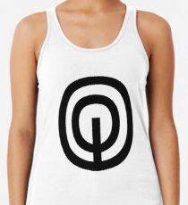 "Unicode Character ""࿃"" (U+0FC3) ࿃ Name:	Tibetan Cantillation Sign Sbub undefined-Chal Women's Tank Top"