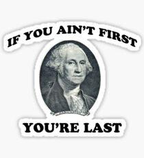 George Washington DNGAF Sticker