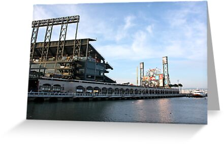 Giants Stadium From The Street by JesusLopez