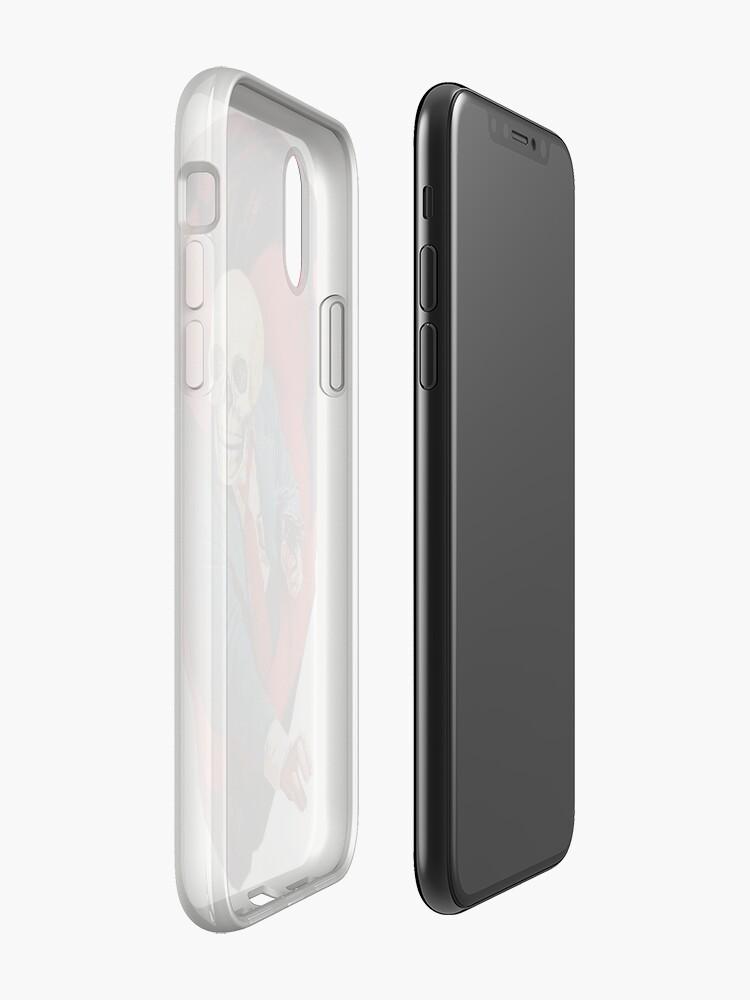 Alternate view of Devilhead Skullman iPhone Case & Cover