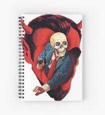 Devilhead Skullman Spiral Notebook
