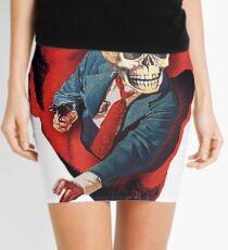 Devilhead Skullman Mini Skirt