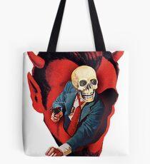 Devilhead Skullman Tote Bag
