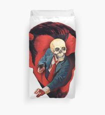 Devilhead Skullman Duvet Cover