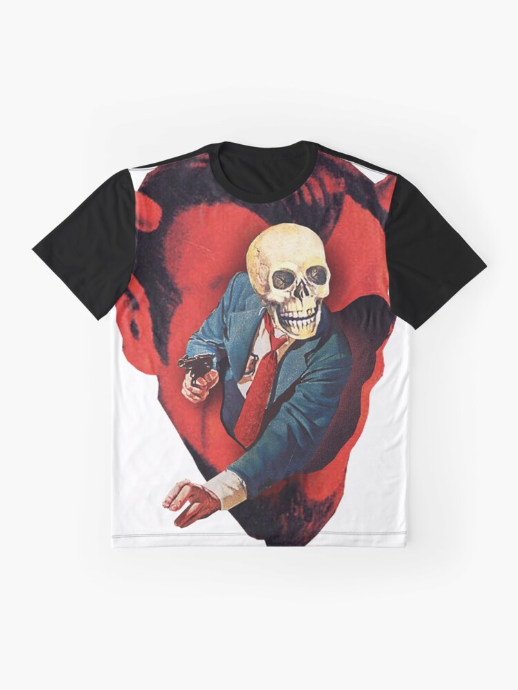 Alternate view of Devilhead Skullman Graphic T-Shirt